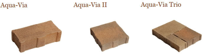 Aqua Via permeable pavers