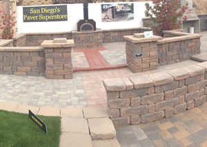 Outdoor Paver Display