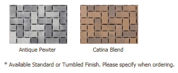 More Permeable pavers colors